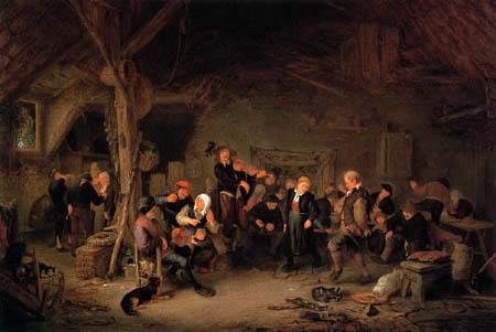 Adriaen van Ostade - Danse des fermiers