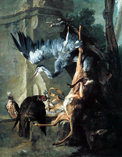 Jean-Baptiste Oudry - Still life with animals