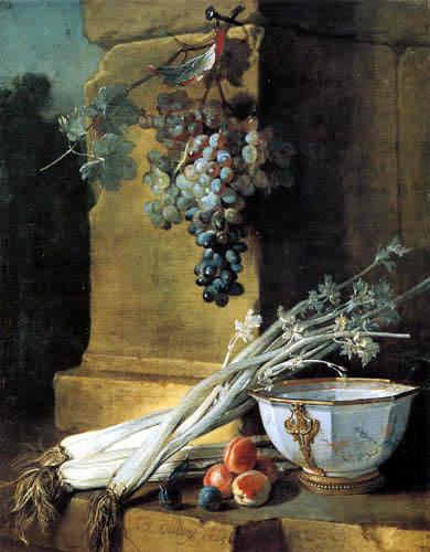 Jean-Baptiste Oudry - Gartenfrüchte