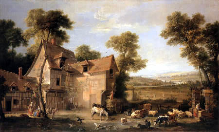 Jean-Baptiste Oudry - The Farm