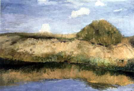 Fritz Overbeck - Paysage de la lande