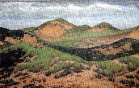 Fritz Overbeck -  Les dunes grises