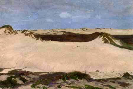 Fritz Overbeck - Dunes, Sylt