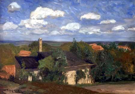 Fritz Overbeck - L'atelier de Overbeck, Worpswede