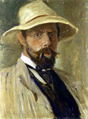 Fritz Overbeck - Autoportrait