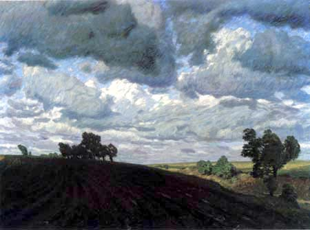 Fritz Overbeck - A stormy day