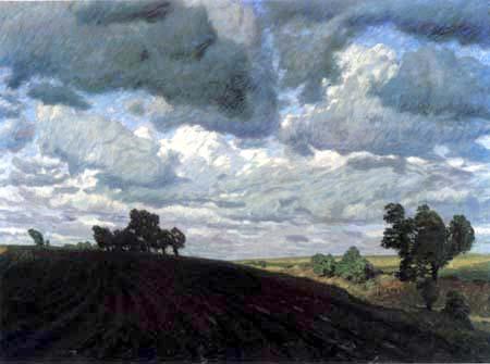 Fritz Overbeck - Un jour de tempête