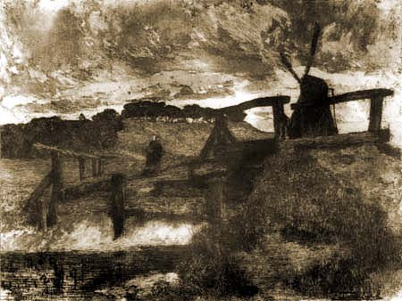 Fritz Overbeck - Die Windmühle