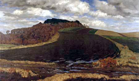 Fritz Overbeck - Die Bergkuppe