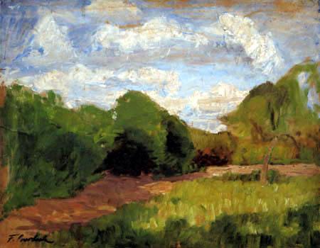 Fritz Overbeck - Le Jardin de Behrmann, Itzehoe
