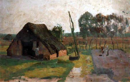 Fritz Overbeck - La cabane sur la lande