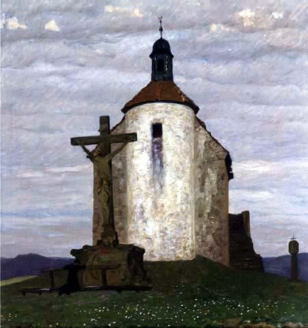 Fritz Overbeck - La chapelle
