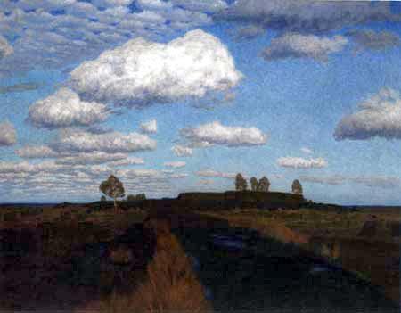 Fritz Overbeck - Paysage de la lande III