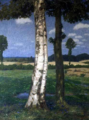 Fritz Overbeck - Été II, le bouleau et le chêne