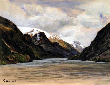 Fritz Overbeck - Odde, Noruega