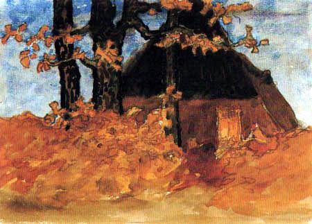 Fritz Overbeck - Pferdestall
