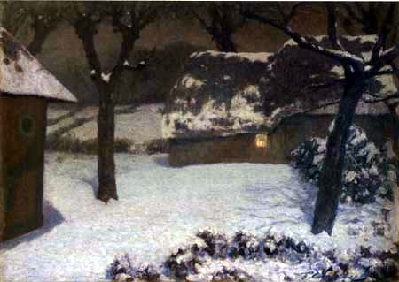 Fritz Overbeck - Winter Night