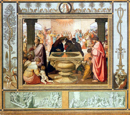 Johann Friedrich Overbeck - The Baptism