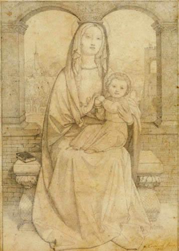 Johann Friedrich Overbeck - Madonna