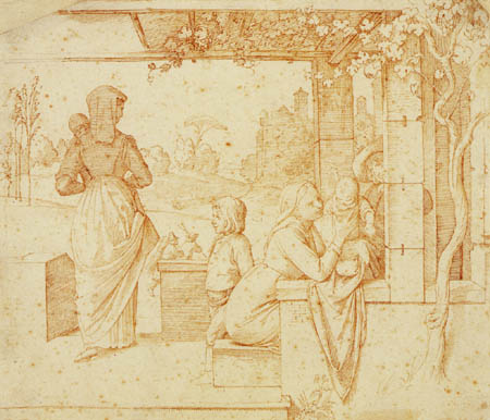 Johann Friedrich Overbeck - De la vie romaine