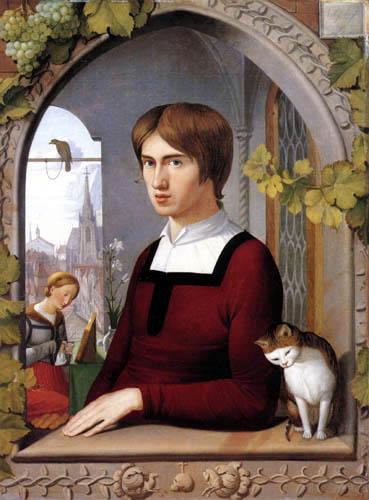 Johann Friedrich Overbeck - The Painter Franz Pforr