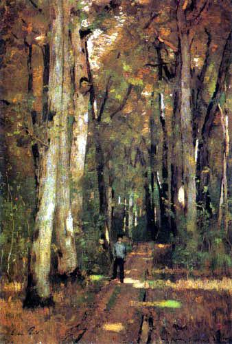 László Paál - Forêt en Fontainebleau