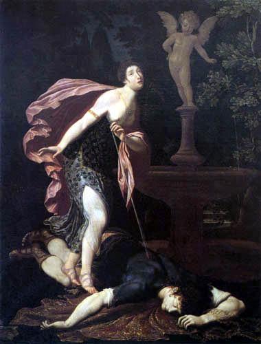 Gregorio Pagani - Pyramus and Tisbe