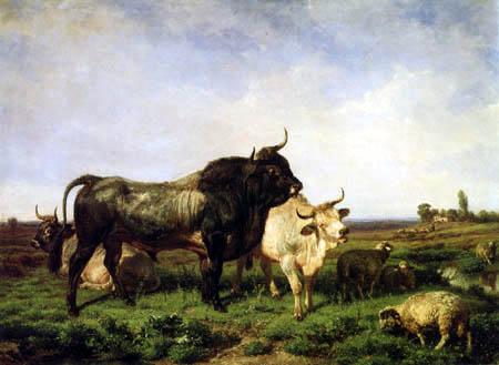 Giuseppe Palizzi - Der Bulle
