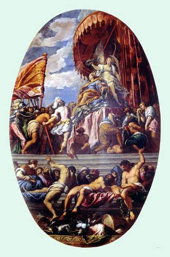 Jacopo Palma il Giovane - Gekrönte Venezia