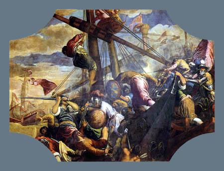 Jacopo Palma il Giovane - Der Sieg Francesco Bembos
