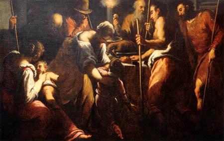 Jacopo Palma il Giovane - The Jewish Feast of Passover