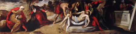 Jacopo Palma il Giovane - The Entombment of Christ