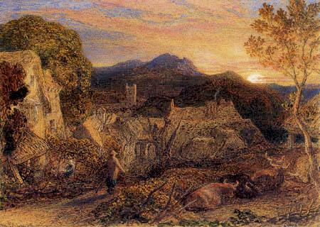 Samuel Palmer - Der Nachtwächter