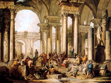 Giovanni Paolo Panini - The preaching of Paul in Athens