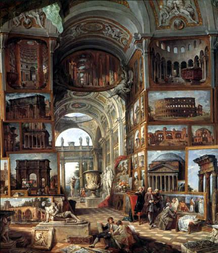Giovanni Paolo Panini - Roma Antica, Detail