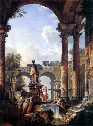 Giovanni Paolo Panini - Idealvedute mit Ruinen
