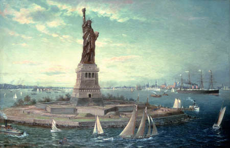 Fred Pansing - Liberty Island and Statue of Liberty