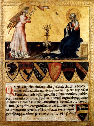 Giovanni di Paolo - Annunciation