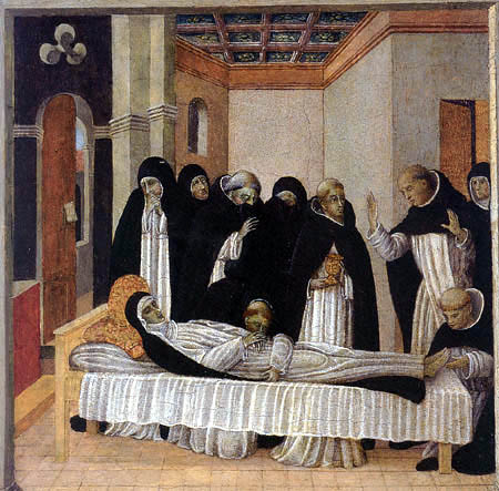 Giovanni di Paolo - The Death of Saint Catherine of Siena