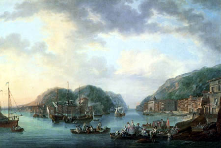 Luis Paret y Alcázar - View of a port of passage
