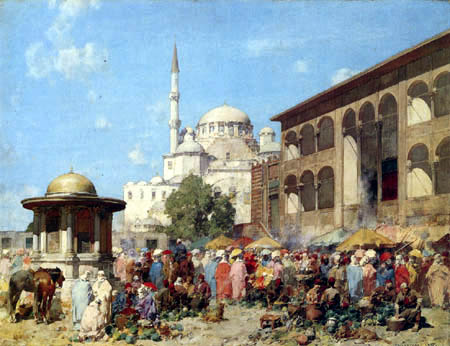Alberto Pasini - Türkischer Markt