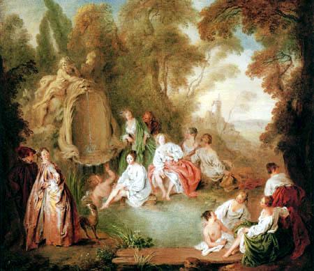 Jean-Baptiste Pater - Bañistas