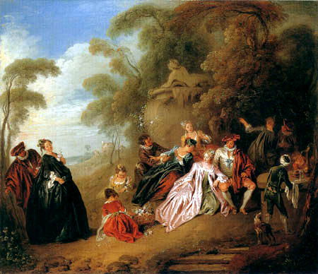 Jean-Baptiste Pater - The Picnic