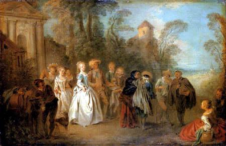Jean-Baptiste Pater - Bride course