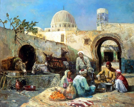 Philippe Pavy - In an Arabian Court
