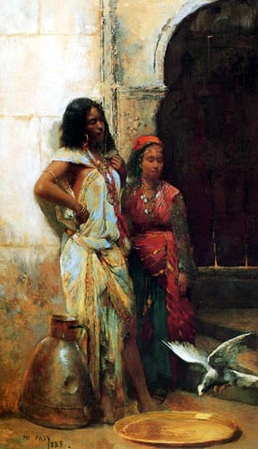 Philippe Pavy - Two Girls