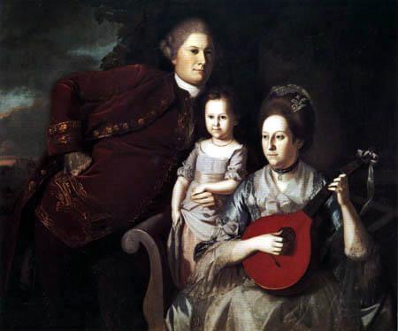 Charles Willson Peale - The Family Edward Lloyd