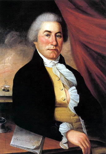 Charles Willson Peale - Portrait of a man