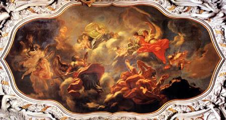 Giovanni Antonio Pellegrini - Allegorie