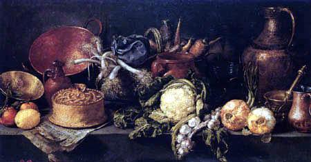 Antonio de Pereda y Salgado - Nature morte avec légumes